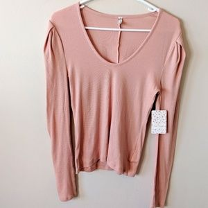 NWT long Sleeve Free People